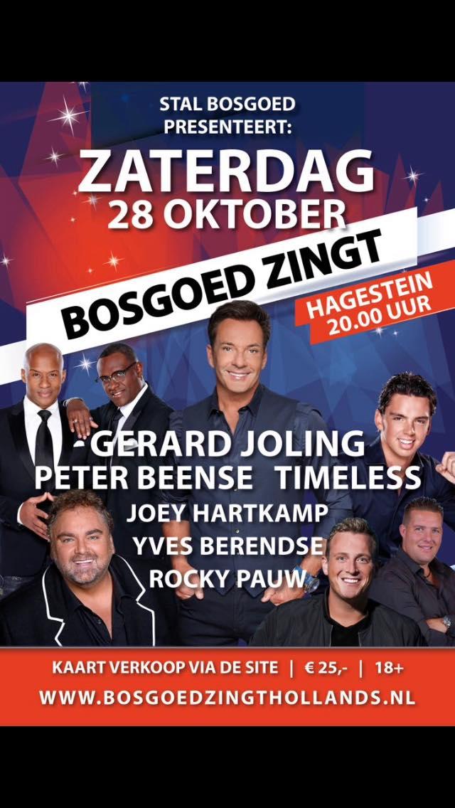 Bosgoed zingt Hollands
