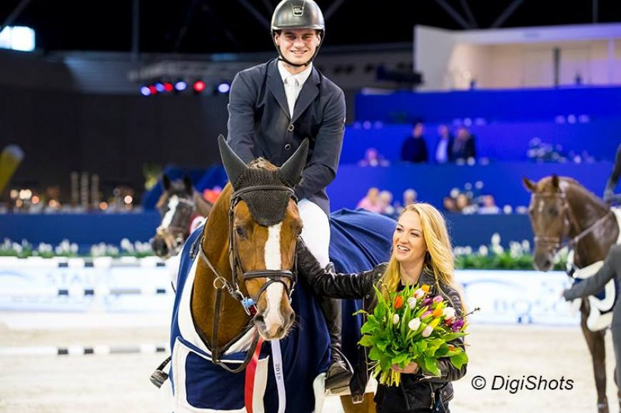 Stal Bosgoed prijs op Jumping Amsterdam